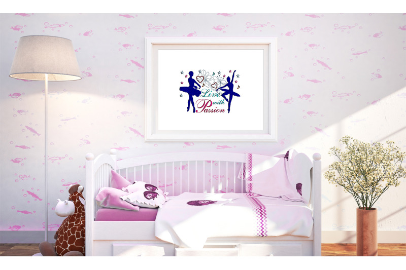 machine-embroidery-design-saying-live-with-passion-art-wall-decor