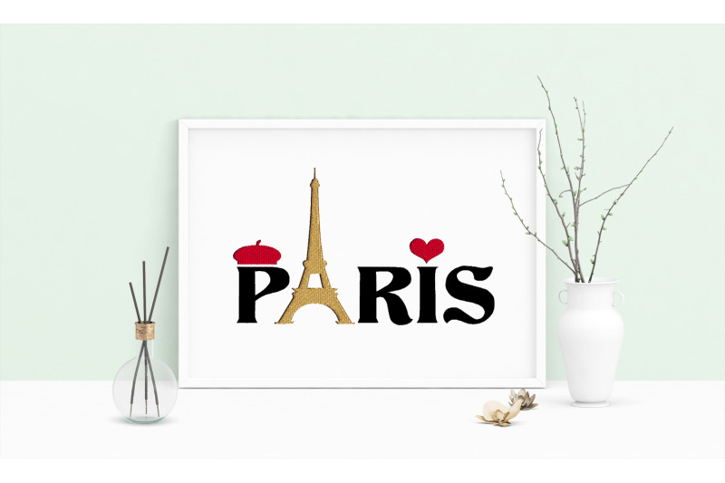 machine-embroidery-design-saying-paris-art-wall-decor-embroidery-art
