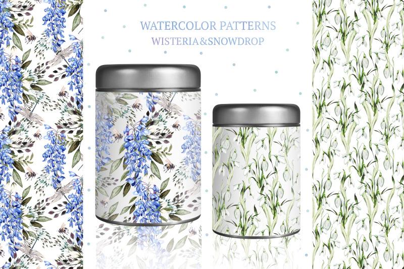 watercolor-spring-flowers