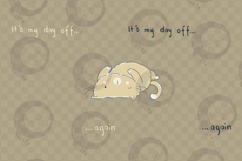 day-off-cat-clip-art-illustration-png-jpeg