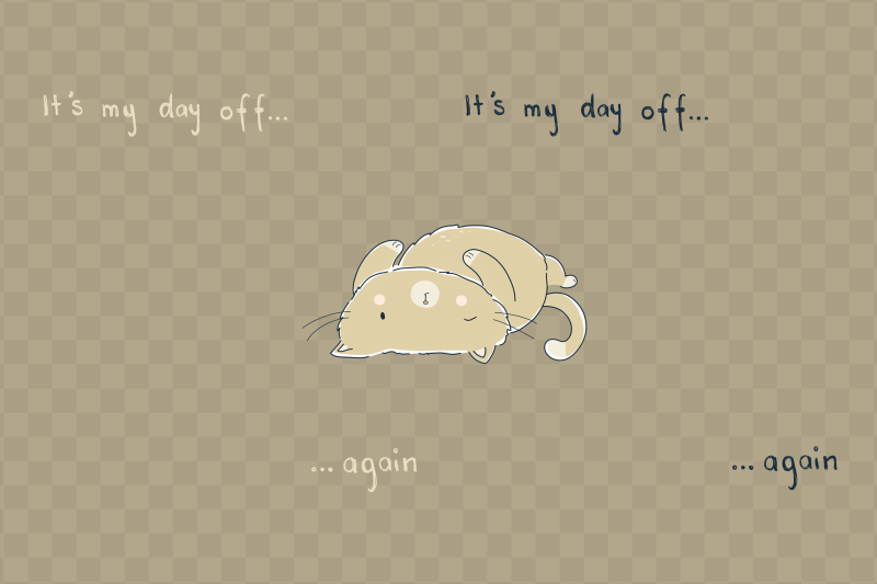 day-off-cat-clip-art-illustration-png-jpeg