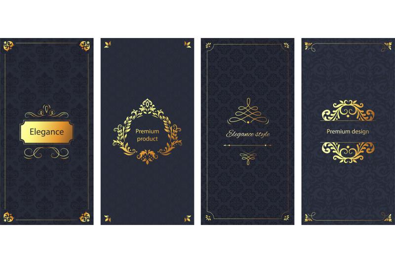 elegant-invitation-decorative-damask-ornament-pattern-golden-frame-a