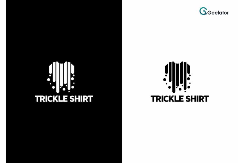 trickle-shirt-logo-template