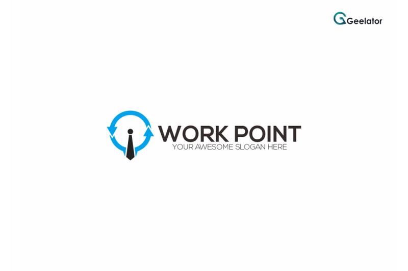 work-point-logo-template