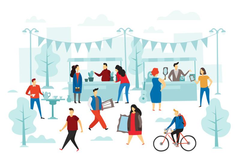 second-hand-shop-flea-market-street-shop-trading-stalls-and-fashion