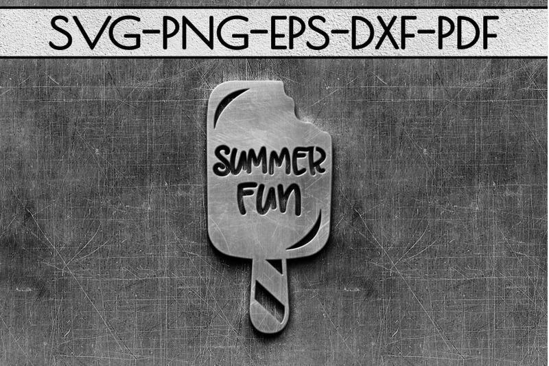 summer-fun-papercut-template-beach-house-decor-svg-dxf
