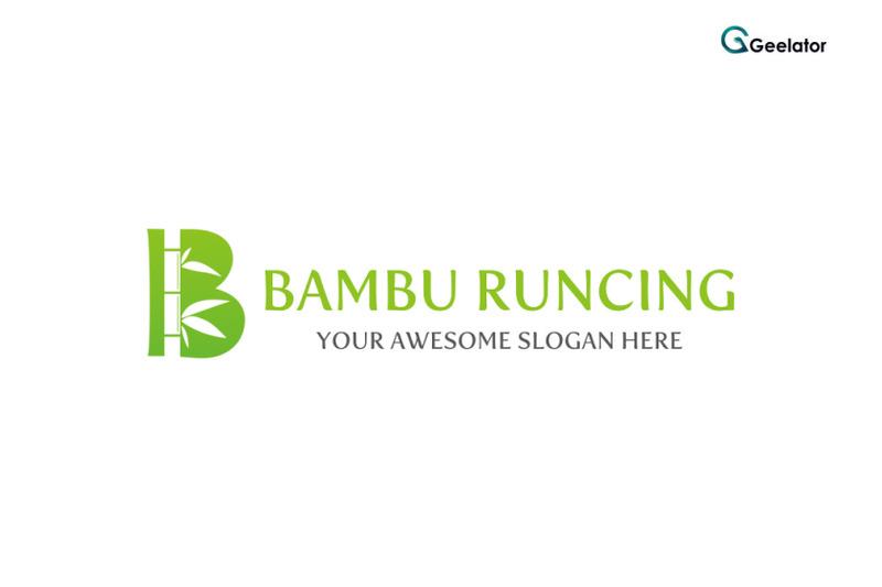 bambu-runcing-logo-template