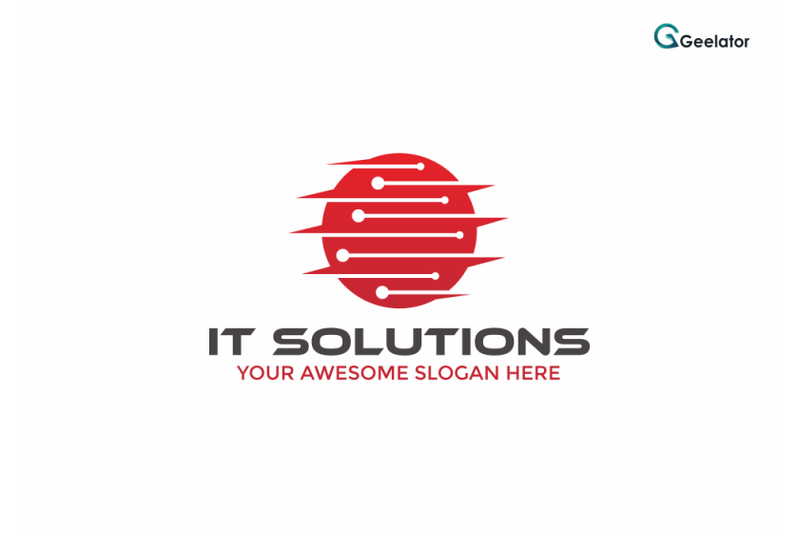 it-solutions-logo-template