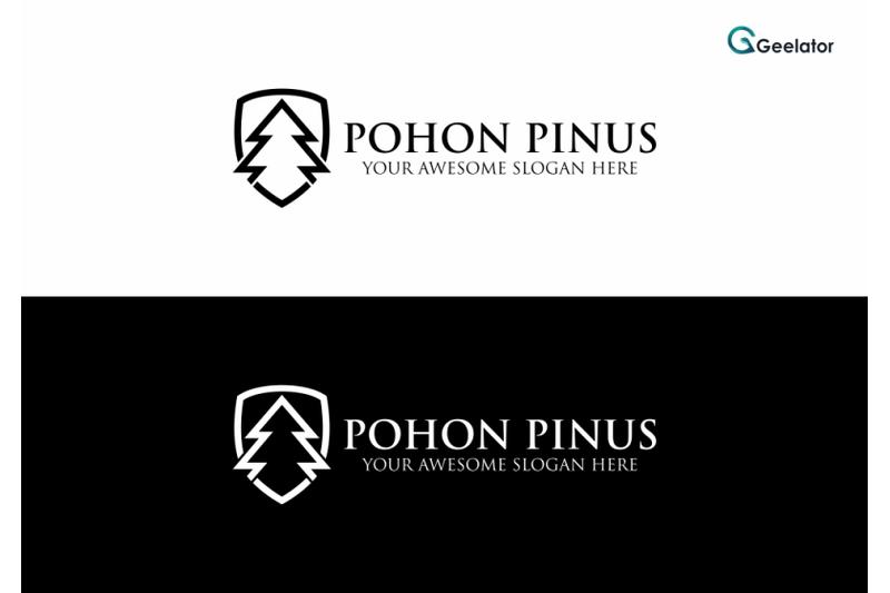 pine-tree-logo-template