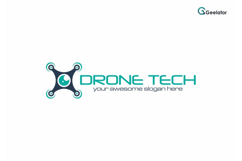 drone-tech-logo-design