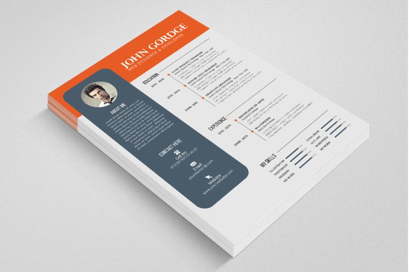 professional-cv-resume-word