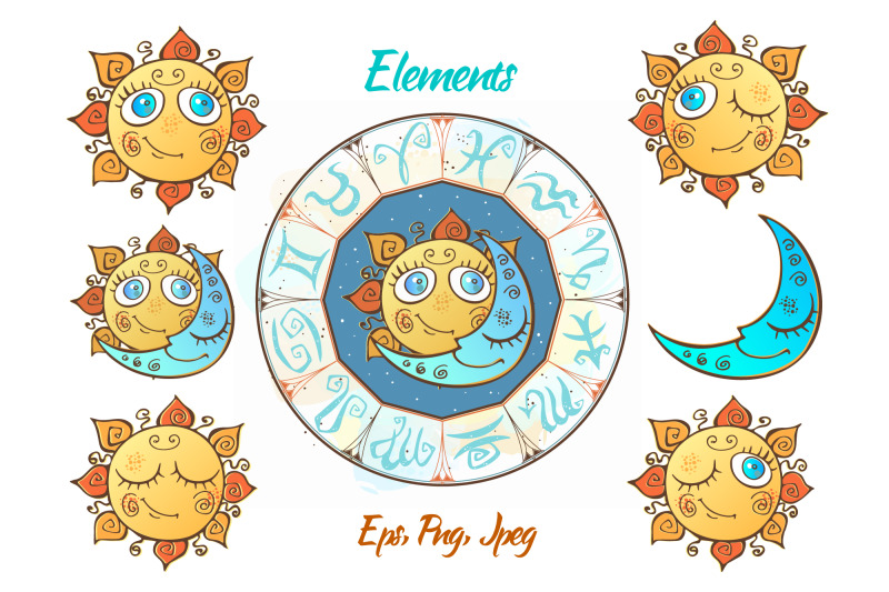 zodiac-signs-for-children-funny-horoscope-in-a-cute-style