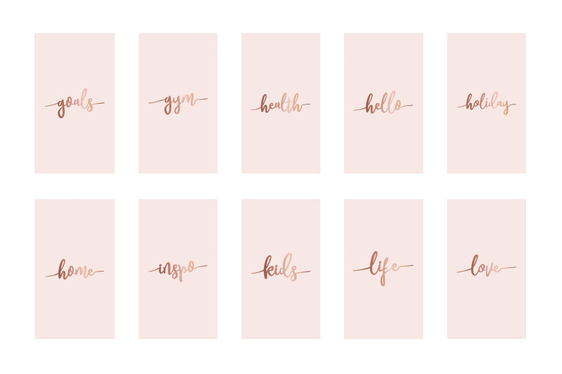 instagram-highlight-covers-rose-gold-on-pink