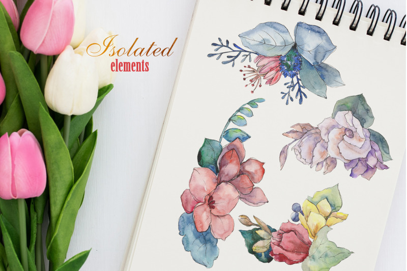 nbsp-bouquet-gifts-of-nature-watercolor-png