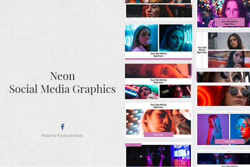 neon-facebook-posts