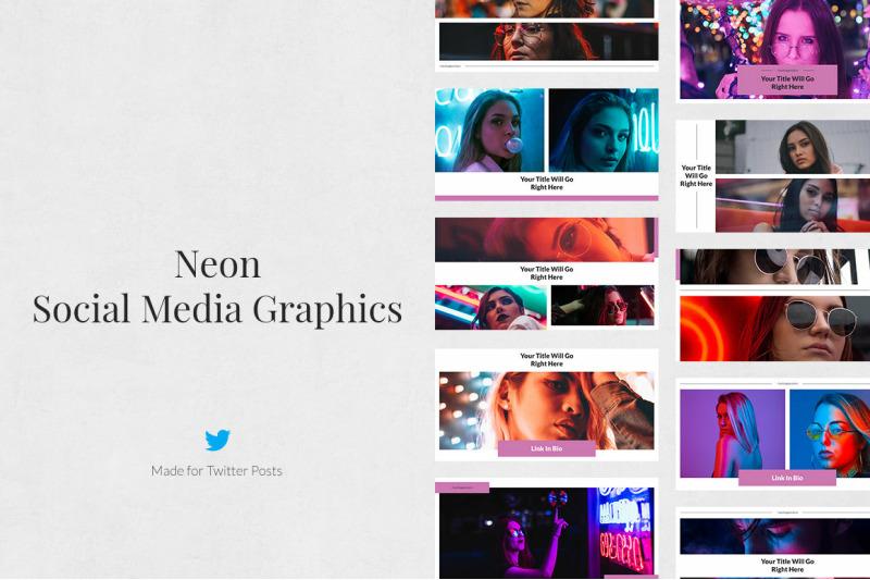 neon-twitter-posts