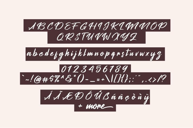 peach-pen-script
