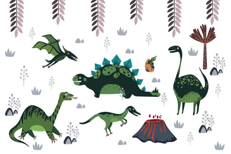 cute-cartoon-dinosaurs