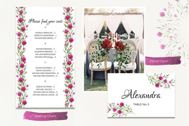 wedding-set-peony-kaleidoscope