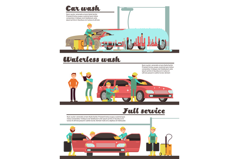 vehicle-cleaning-service-and-car-washing-marketing-banners-set