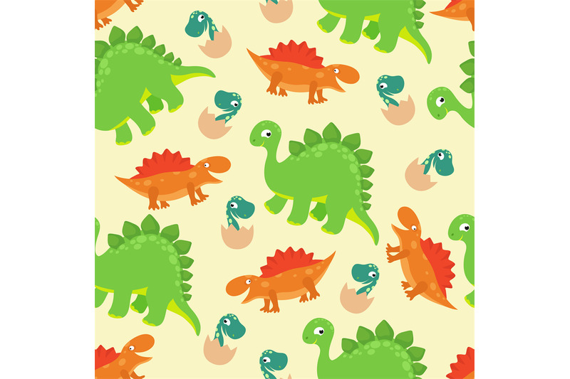 cartoon-baby-dinosaur-vector-seamless-pattern-for-girl-fashion-design