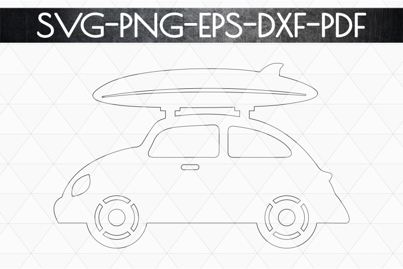 summer-surf-papercut-template-car-with-surf-board-svg-dxf