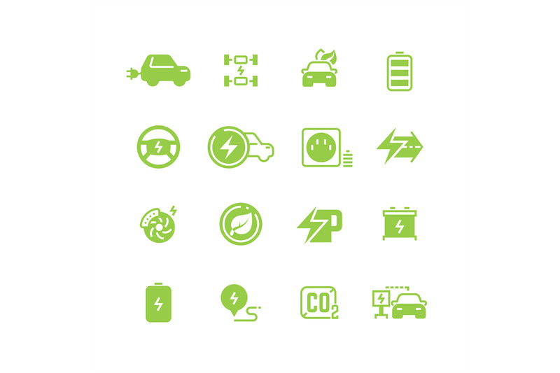 electrical-charge-symbols-and-electric-car-eco-transportation-pictogra