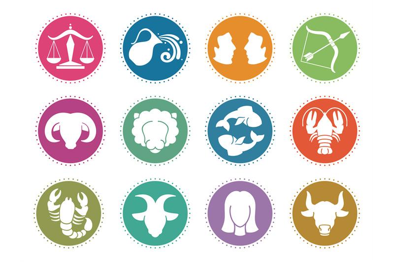 horoscope-zodiac-vector-signs-astrology-symbols-set