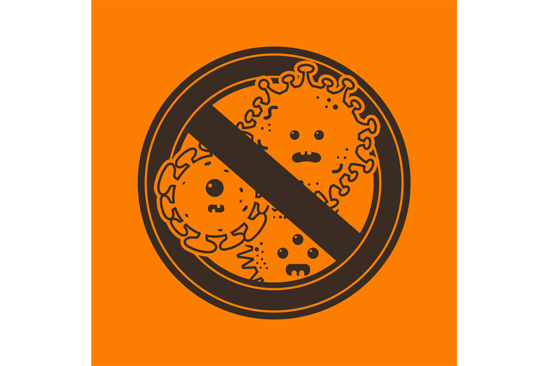stop-viruses-and-microbes-sign