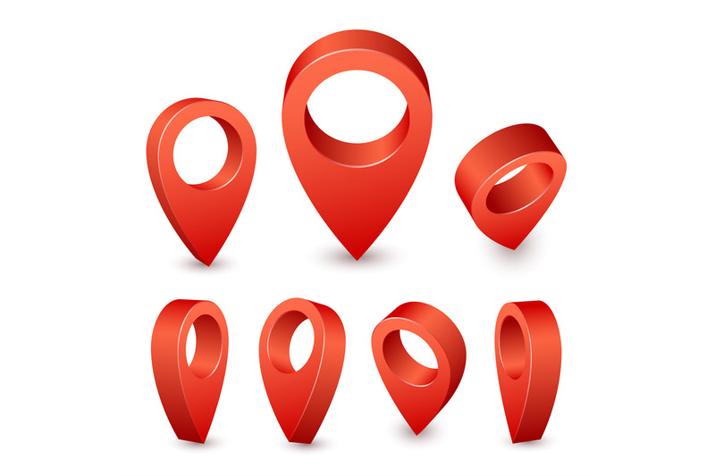 map-pointer-3d-pin-red-pin-marker-for-travel-place-location-symbols