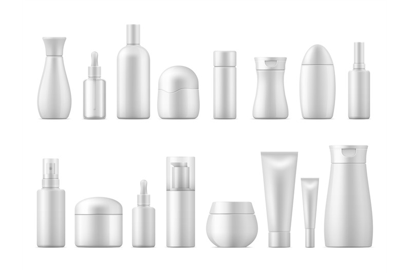 realistic-cosmetic-package-white-product-bottle-plastic-lotion-shampo