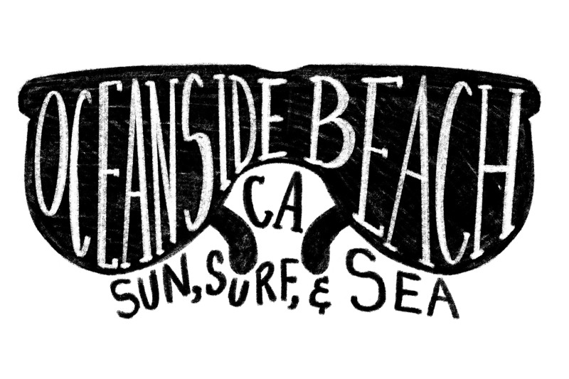 oceanside-california-beach-label