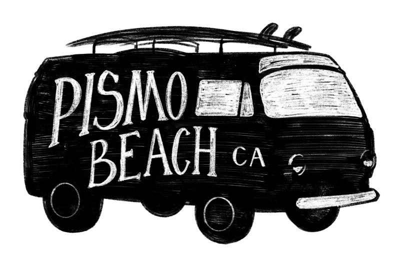 pismo-beach-california-label