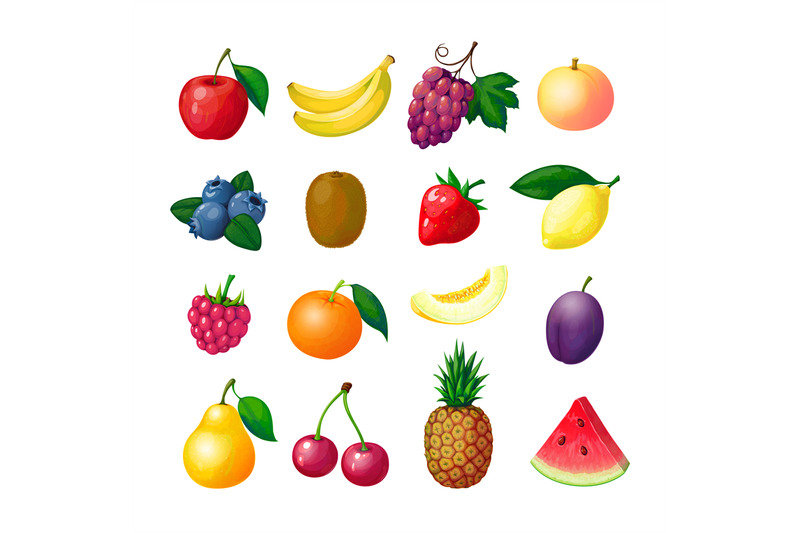 cartoon-fruits-and-berries-apple-banana-grape-peach-blueberry-kiwi-le