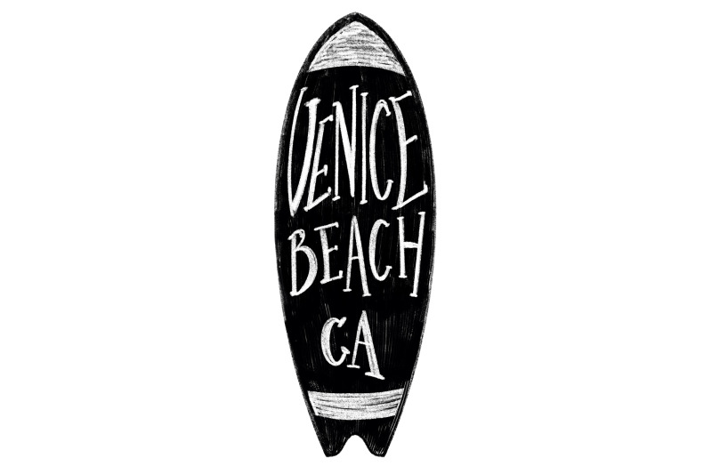 venice-beach-california-label