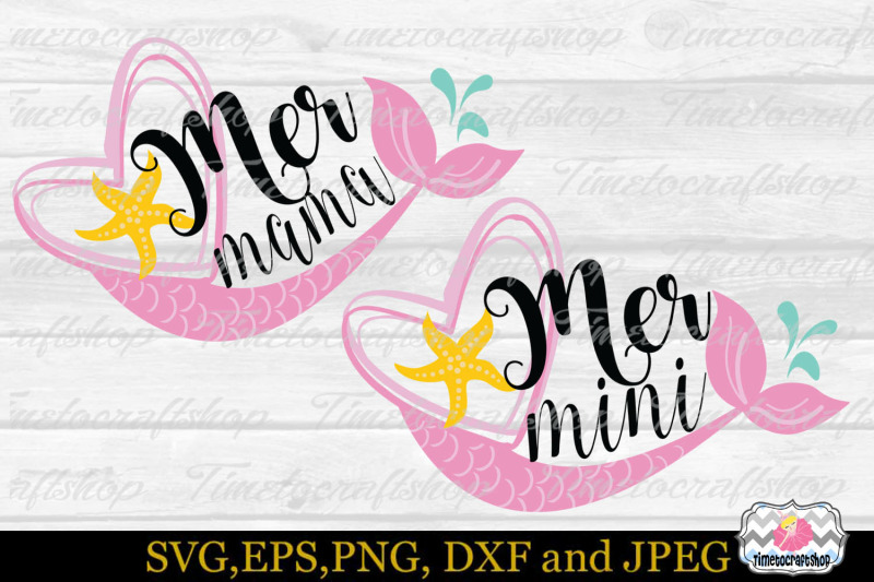 svg-eps-dxf-amp-png-for-mermini-and-mermama