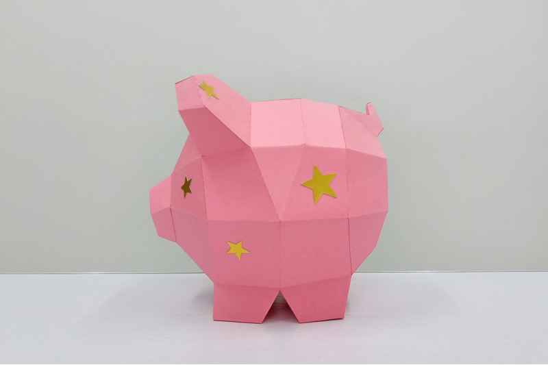 diy-piggy-bank-3d-papercraft