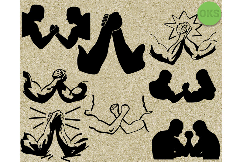 arm-wrestle-svg-svg-files-vector-clipart-cricut-download