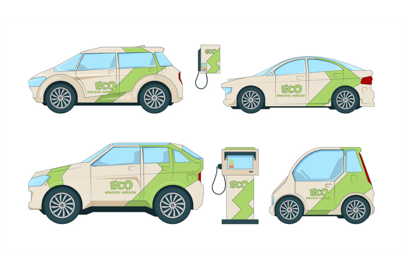 electric-cars-various-cartoon-eco-cars-isolate