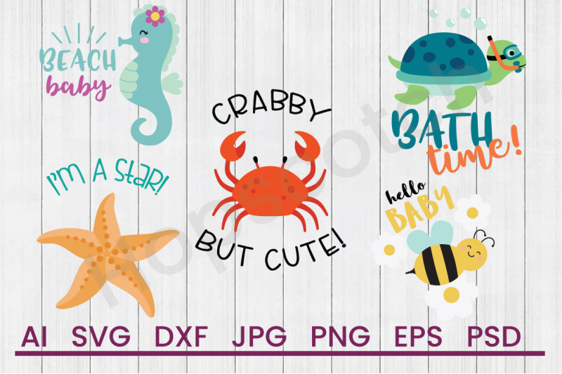 beach-baby-bundle-svg-files-dxf-files-cuttable-files