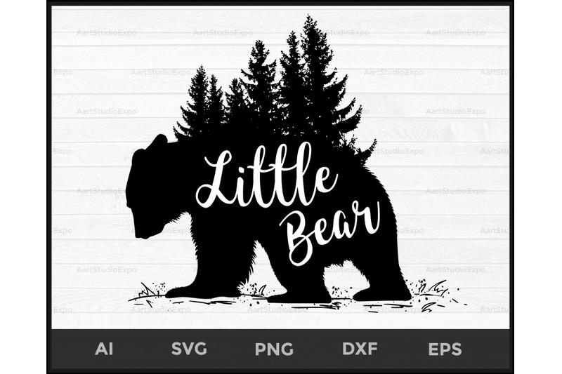 Little Bear Svg Files Little Bear Svg Bear Svg Baby Svg