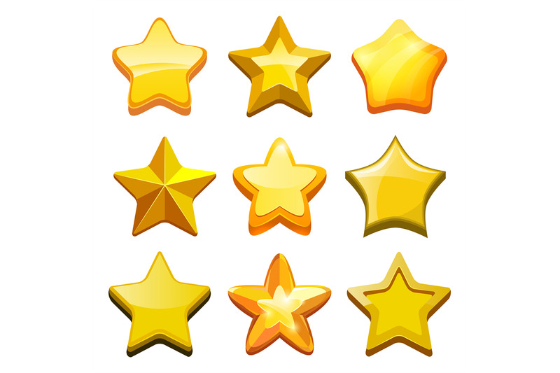 game-cartoon-stars-crystal-golden-gui-buttons-icons-and-status-bar-ve