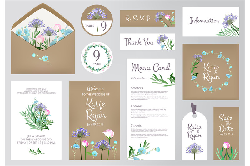 floral-invitation-cards-beautiful-wedding-love-greeting-beauty-invite