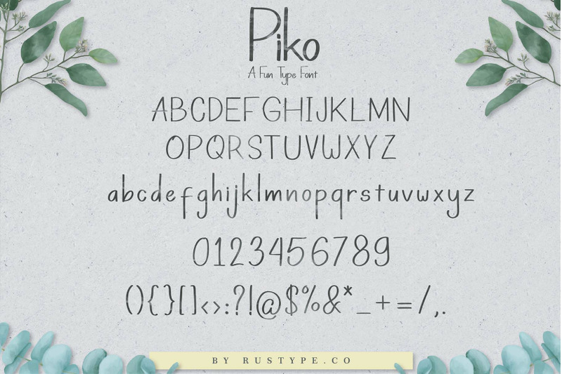 piko-a-fun-type-font