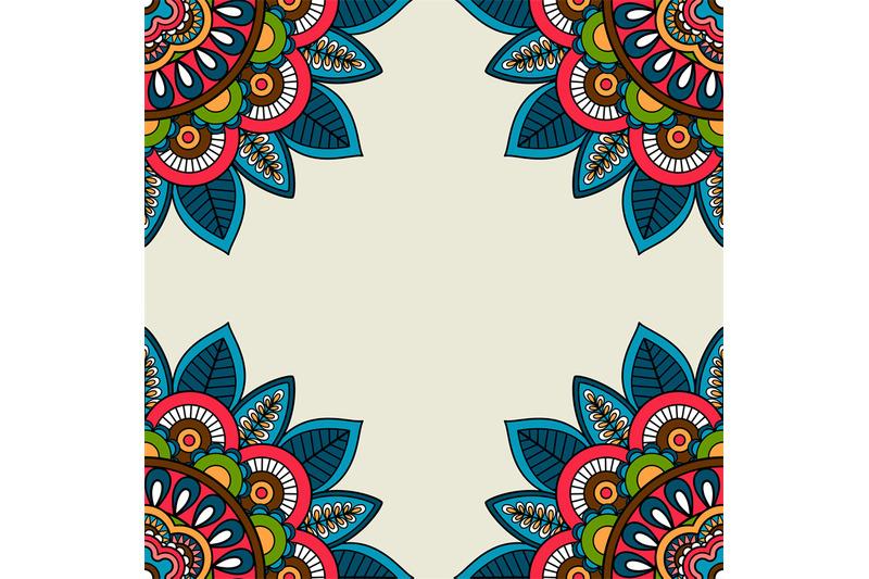 indian-doodle-floral-corners-frame