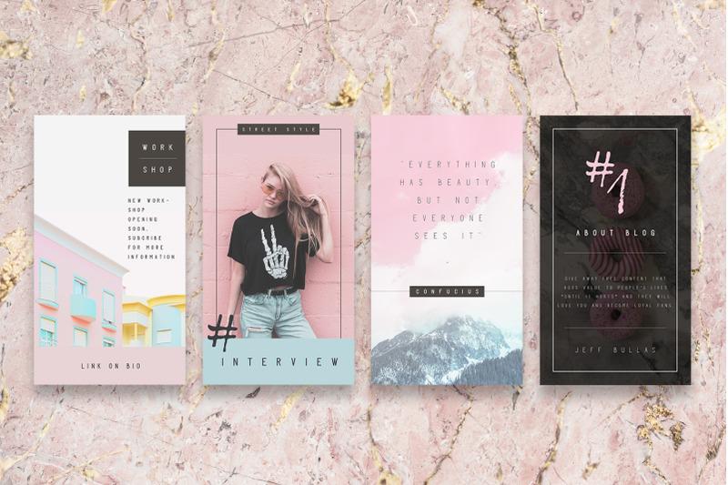 pastel-blogger-instagram-stories-template-instagram-pack-blog