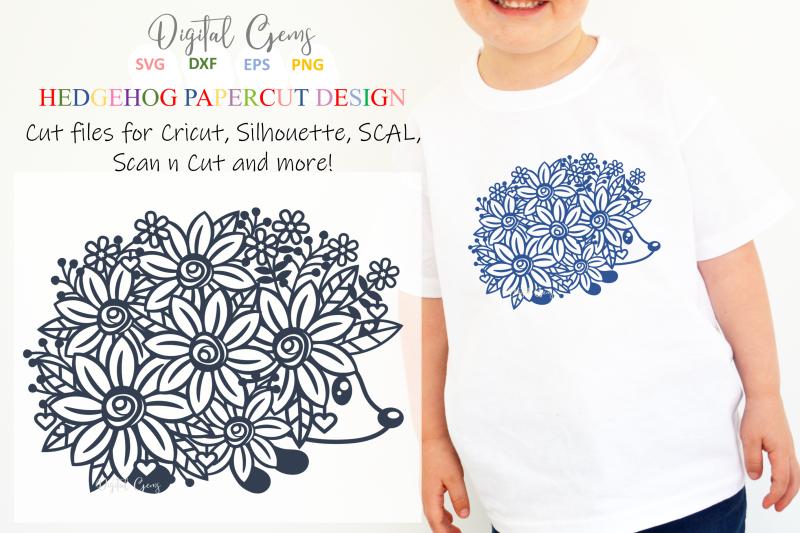 hedgehog-paper-cut-design