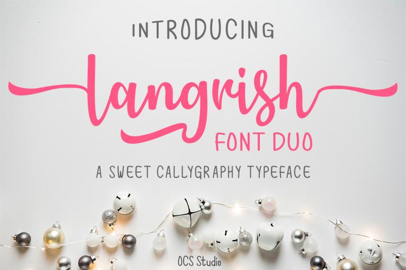 langrish-font-duo