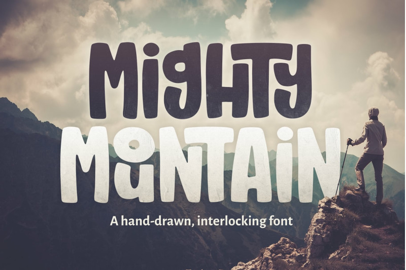 mighty-mountain-font