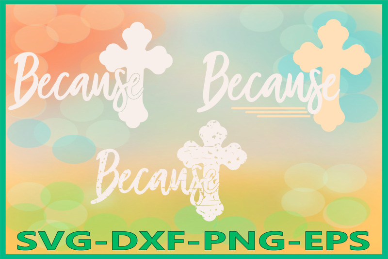 because-svg-files-cross-grunge-he-is-risen-spring-decor
